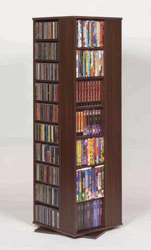 CD-1040CHY (Spinning hand crafted multimedia tower-Cherry)