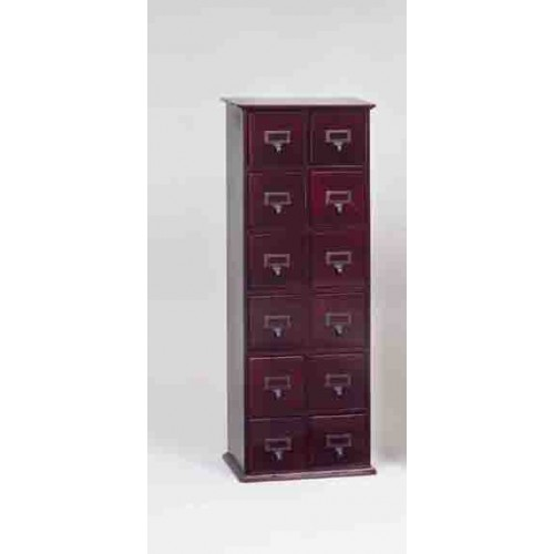 CD-228C (Solid Oak Library File Media- Cherry)