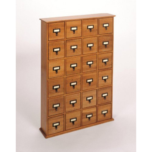 CD-288W (Solid Oak Library File - Walnut)