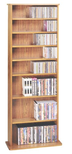 CDV-500CHY  Multimedia storage rack-Cherry